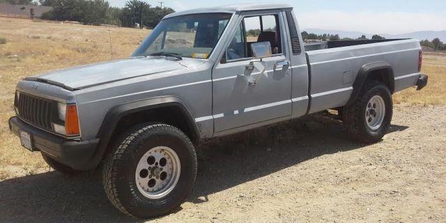 1986 Jeep Comanche Xls Standard Cab Pickup 2 Door For Sale Photos