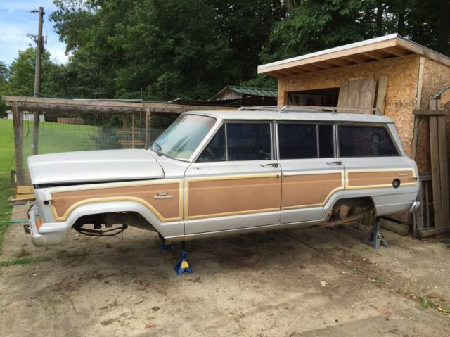Jeep Grand Wagoneers Full Professional Ground Up >> 1989 Jeep Grand Wagoneer Parts   The Wagon