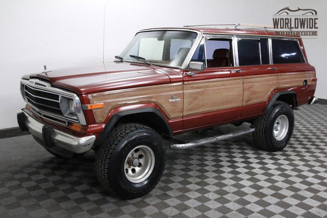 1986 Jeep Wagoneer Lifted with Crate 360 V8 and AC!