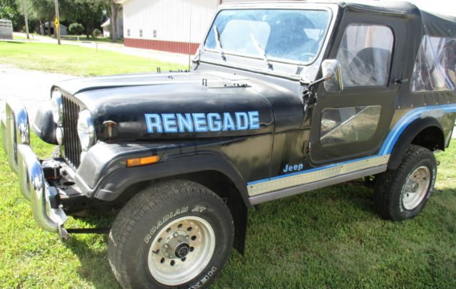 1986 jeep wrangler cj 7 renegade for sale photos technical specifications description. Black Bedroom Furniture Sets. Home Design Ideas