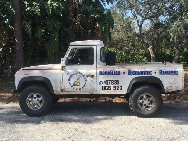 1986 Land Rover 110 Defender Pickup Truck