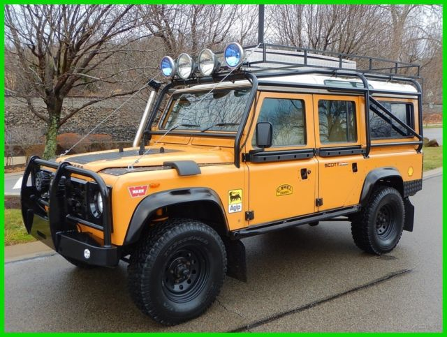 1986 land rover defender 110 camel trophy must see! for sale: photos