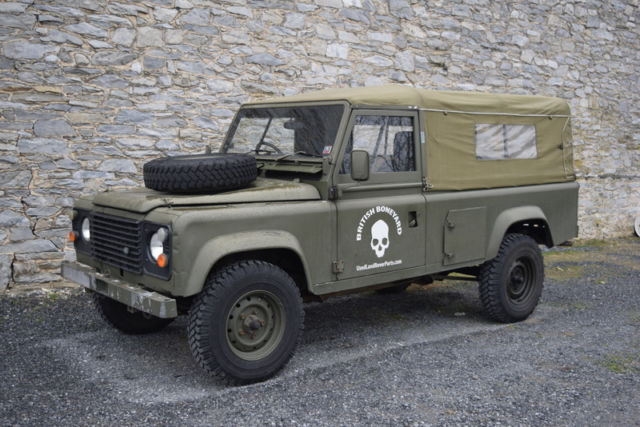 1986 Land Rover Defender 110 exMOD