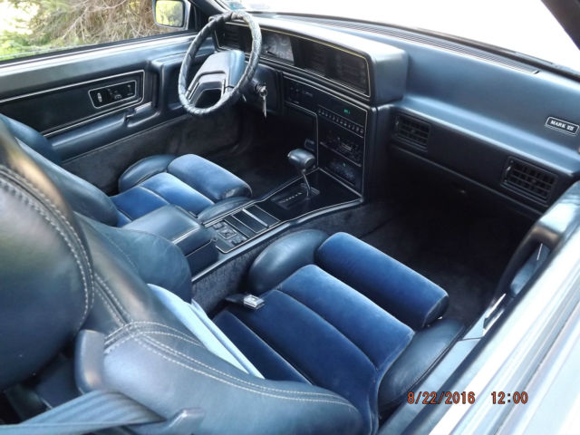 1986 Lincoln Mark Vii Lsc Sedan 2 Door 5 0l For Sale