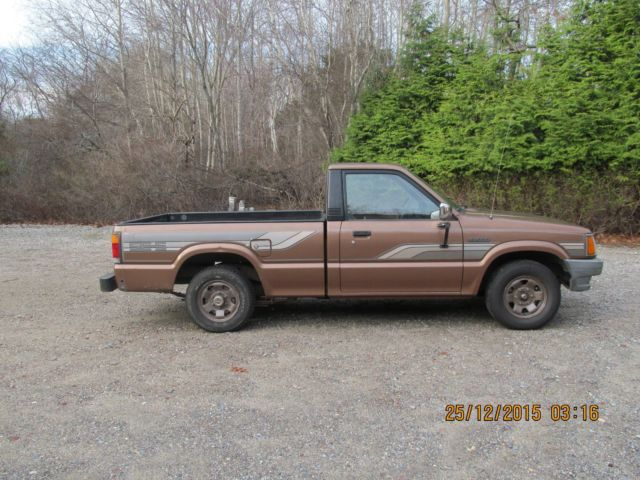 1986 mazda b2000 pickup se 5 low miles for sale photos technical