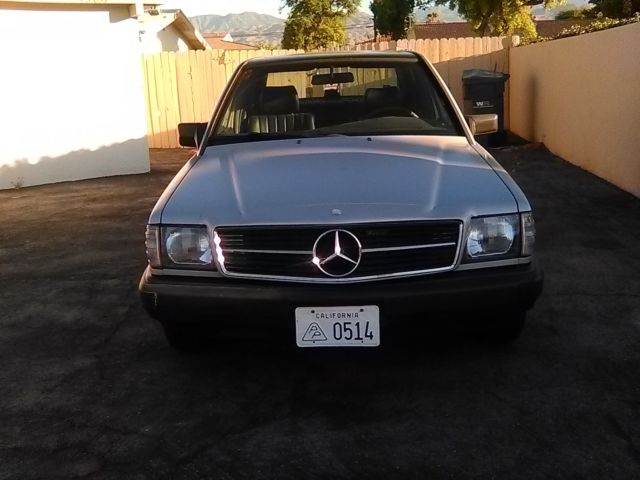 1986 Mercedes-Benz 190-Series Lorinser badging inside and out