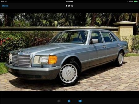 1986 Mercedes-Benz 300-Series LEATHER