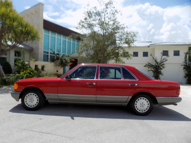 1986 Mercedes-Benz 500-Series 560 sel, 500 sel