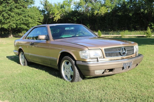 1986 Mercedes-Benz 500-Series Coupe