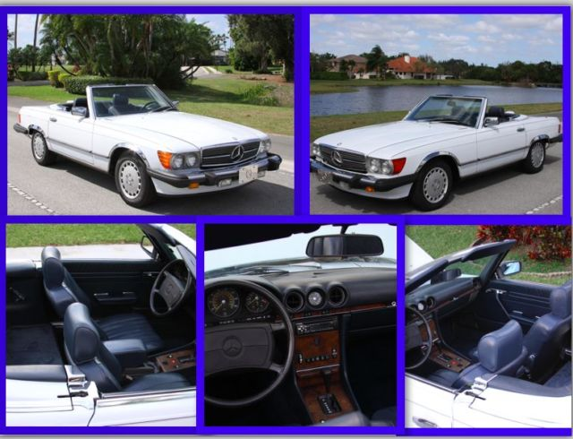 1986 Mercedes-Benz 500-Series