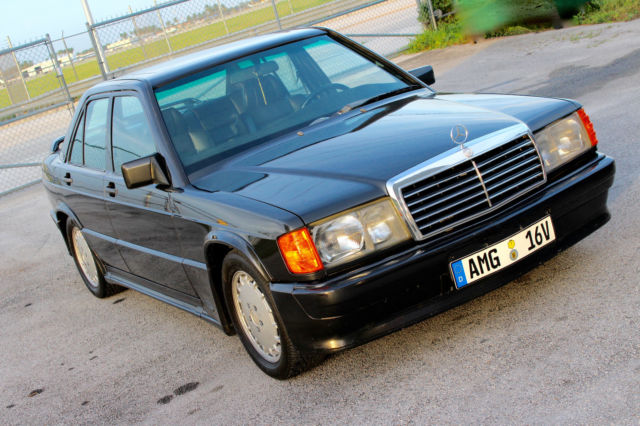 1986 Mercedes-Benz 190-Series 190E 2.3-16 Sedan 4-Door Manual 5-Speed I4 2.3L