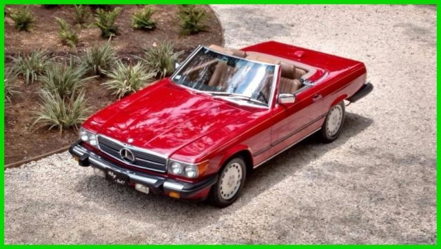 1986 Mercedes-Benz 500-Series 2 Dr Convertible
