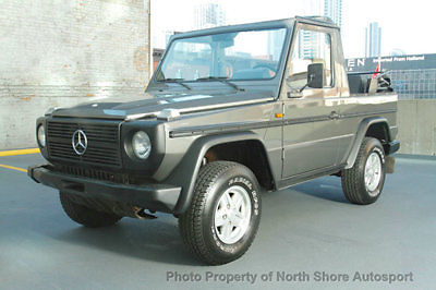 1986 mercedes benz 230ge g wagon cabriolet gelandewagen for Mercedes benz gelandewagen for sale