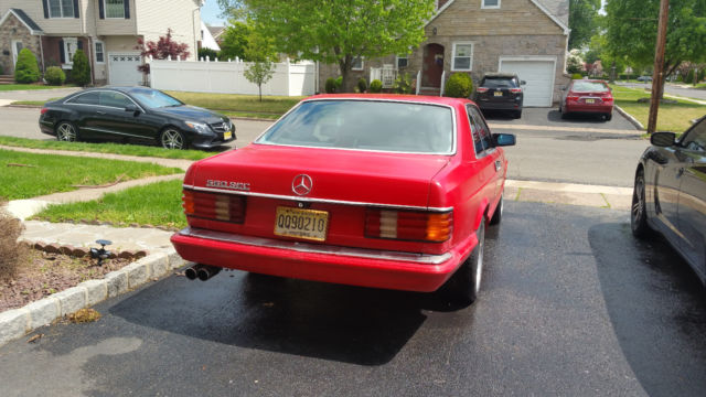1986 mercedes benz 560 sec no reserve for sale photos for Mercedes benz 560sec for sale