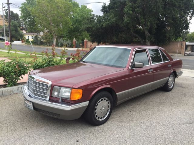 1986 mercedes benz 560 sel w126 no reserve for sale photos technical. Black Bedroom Furniture Sets. Home Design Ideas