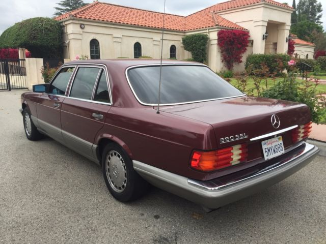 1986 mercedes benz 560 sel w126 no reserve for Mercedes benz w126 for sale