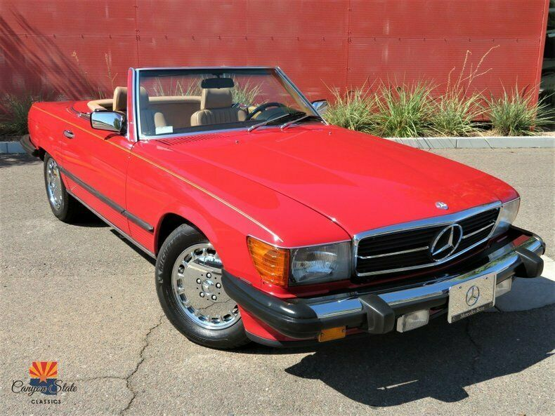 1986 Mercedes-Benz 560 Series 2dr Roadster 560SL