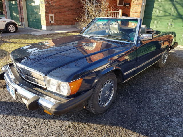 1986 Mercedes-Benz 500-Series Base Convertible 2-Door