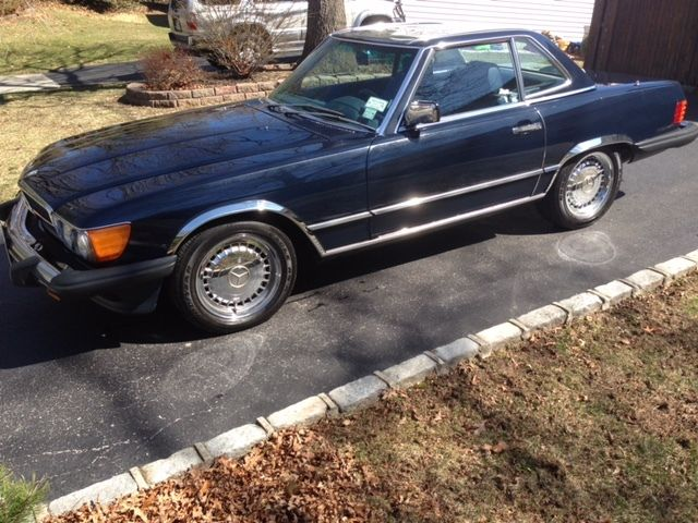 1986 Mercedes-Benz SL-Class Chrome as per original