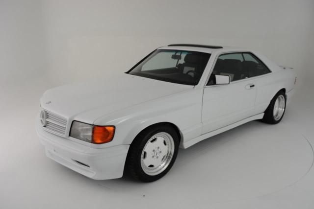 1986 Mercedes SEC AMG Hammer 6 0 DOHC Widebody for sale