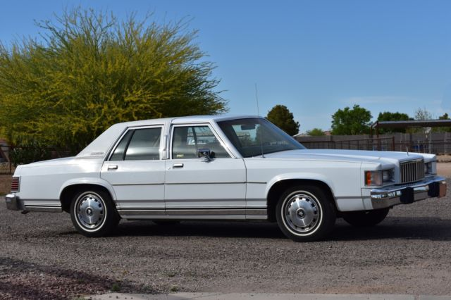 1986 Mercury Grand Marquis Base Sedan 4-Door
