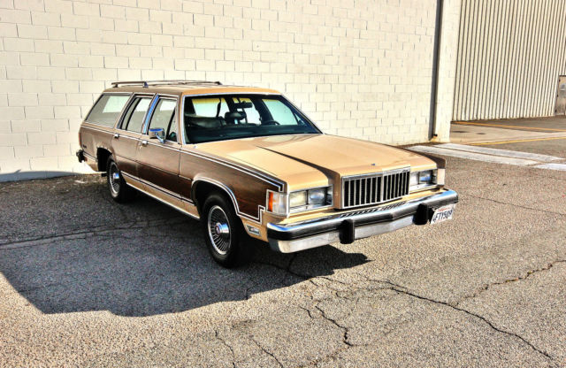 1986 Mercury Grand Marquis COLONY PARK WAGON-19,045 ORIGINAL MILES-NO RESERVE