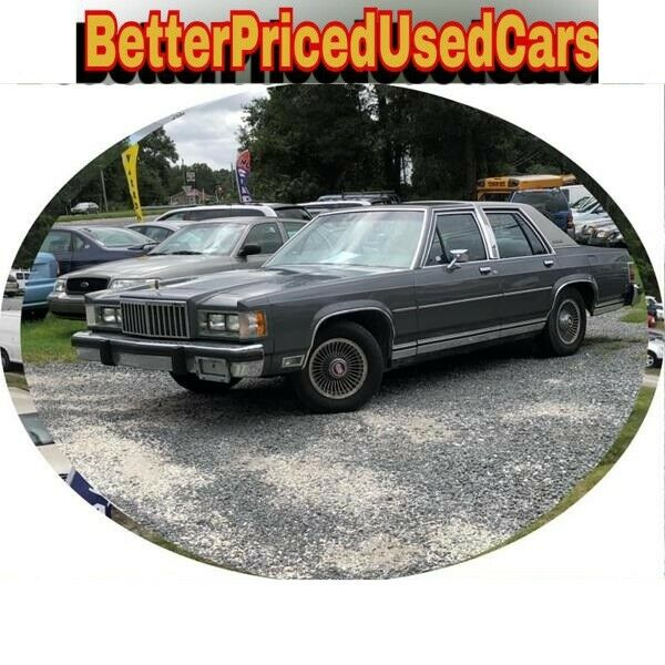 1986 Gray Mercury Grand Marquis GRAND Sedan with Unspecified interior