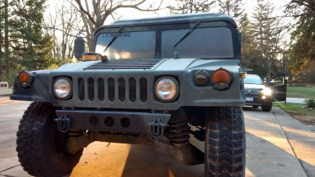 1986 Hummer H1 Military hard top , hard doors