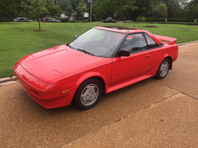 1986 Toyota MR2 Base 2dr Coupe