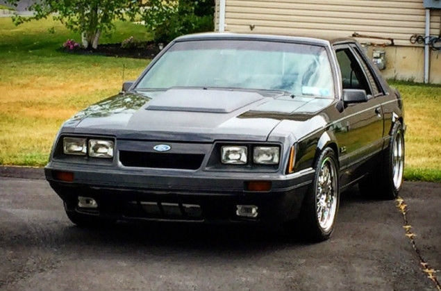 1986 Ford Mustang Coyote Swap