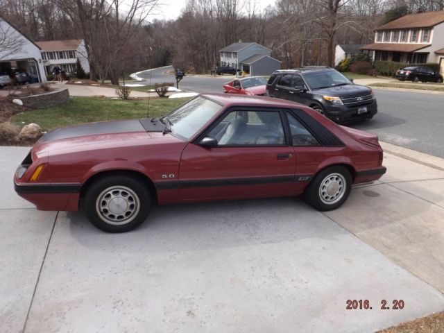 1986 Ford Mustang GT/LX