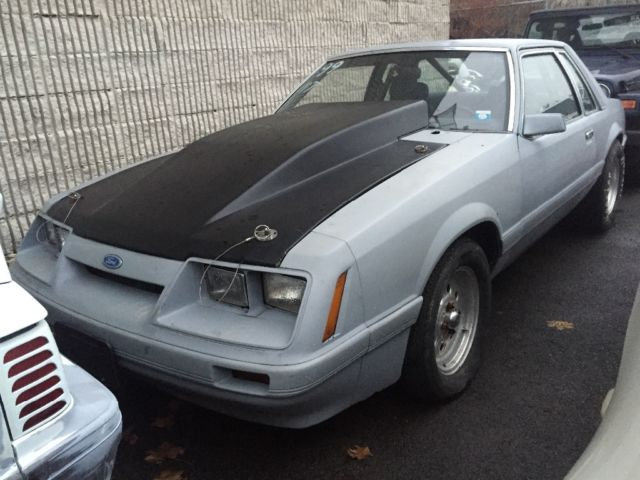 1986 Ford Mustang Notchback
