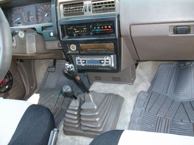 1986 Nissan 4x4 Hardbody Extended Cab 5 Speed Manual D21 Z24 For Sale Photos Technical