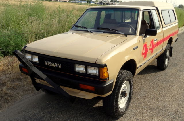 1986 nissan datsun pickup 4x4 king cab 720 original. Black Bedroom Furniture Sets. Home Design Ideas