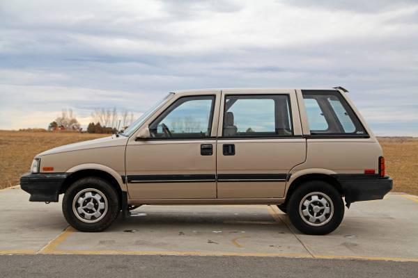 1986 Nissan Stanza Datsun Prairie 4x4 Wagon 5 Speed Manual 4wd For Sale Photos Technical