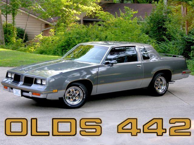1986 Oldsmobile 442 Low Miles Cutlass Salon Supreme Olds
