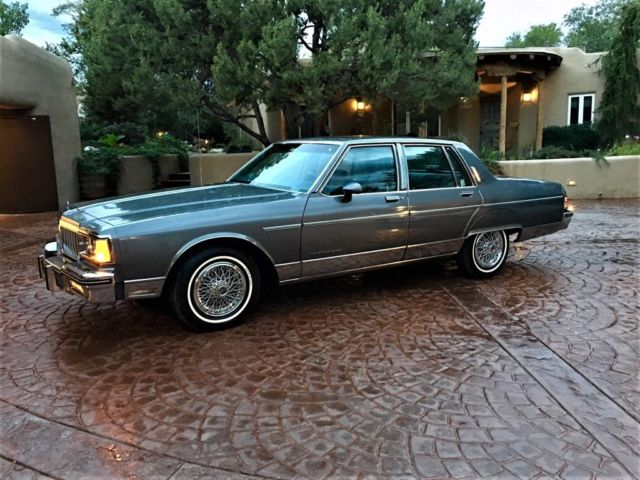 1986 Pontiac Parisienne With Only 4 345 Original Miles