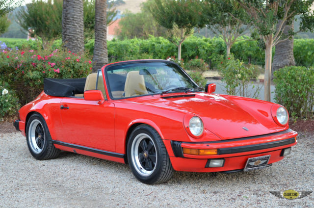 1986 Porsche 911 CARRERA 3.2 LITER / 5-SPEED