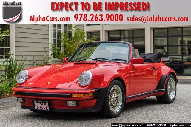 1986 Porsche 911 Carrera Cabriolet M491 Turbo Look