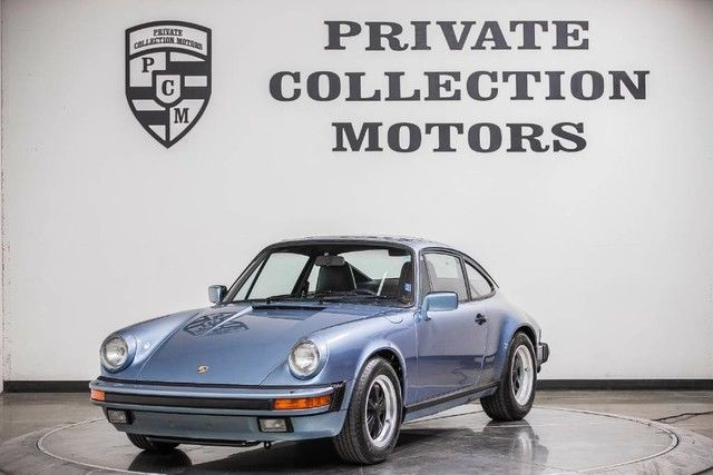 1986 Porsche 911 Carrera Coupe 2-Door