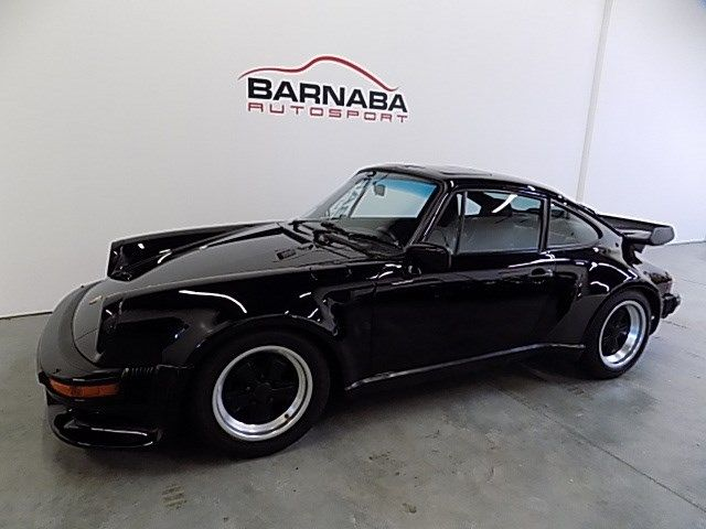 1986 Porsche 911 Turbo 60621 Miles Black  3.3L H6 SOHC 12V TURBO 4 Speed