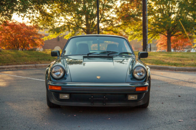 Used Cars Mooresville Nc >> 1986 Porsche 911 Turbo Coupe 930 Moss Green Metallic over ...