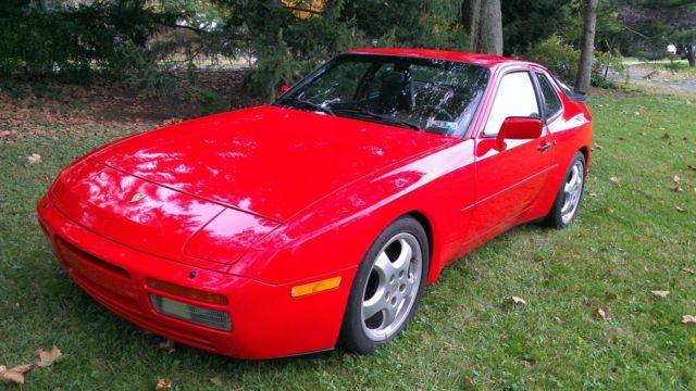 1986 Porsche 944 Turbo Red Black For Sale Photos Technical Specifications Description