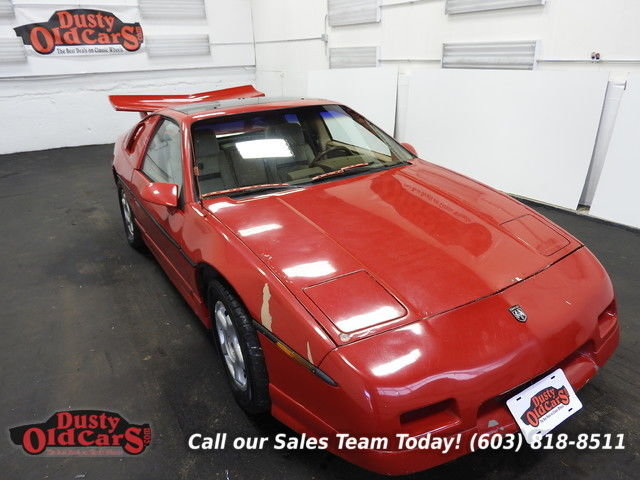 1986 Pontiac Fiero Rough Not Running Project Car 2.8LV6