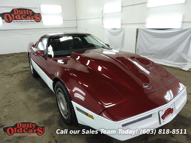1986 Chevrolet Corvette Runs Drives Body Inter VGood 350V8 4 spd Auto