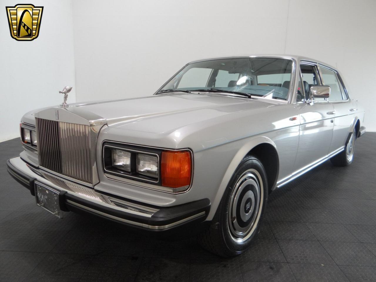 1986 Rolls Royce Silver Spur 43838 Miles Silver Sedan 6 8l