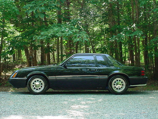 1986 Ford Mustang LX 5.0. Supercharged. 5spd.
