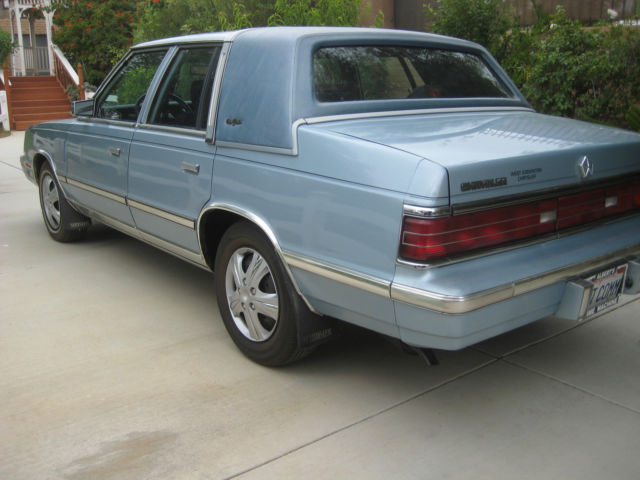 1986 Chrysler New Yorker