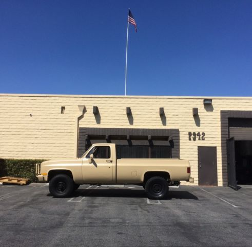 1986 Chevrolet Other Pickups Military truck