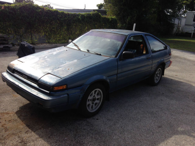 Toyota 86 Trueno For Sale Cared After 1985 Toyota Corolla